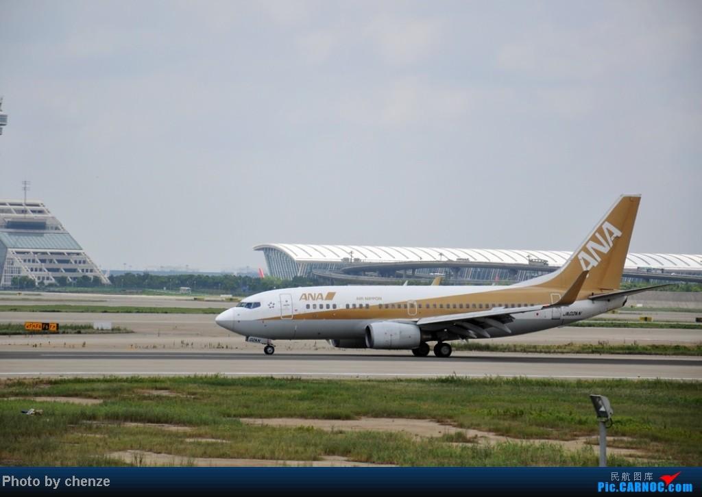 Re:[原创]浦东的天不咋蓝了,但还是要拍滴!!发现临时拍机位! BOEING 737-700 JA02AN 中国上海浦东机场
