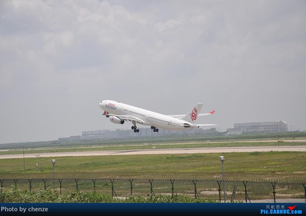 Re:[原创]浦东的天不咋蓝了,但还是要拍滴!!有点小惊喜!发现临时拍机位! AIRBUS A330-300 B-HLC 中国上海浦东机场
