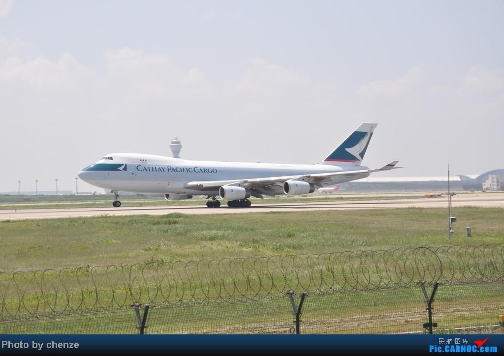 Re:[原创]浦东的天不咋蓝了,但还是要拍滴!!有点小惊喜!发现临时拍机位! BOEING 747-400 B-HUL 中国上海浦东机场