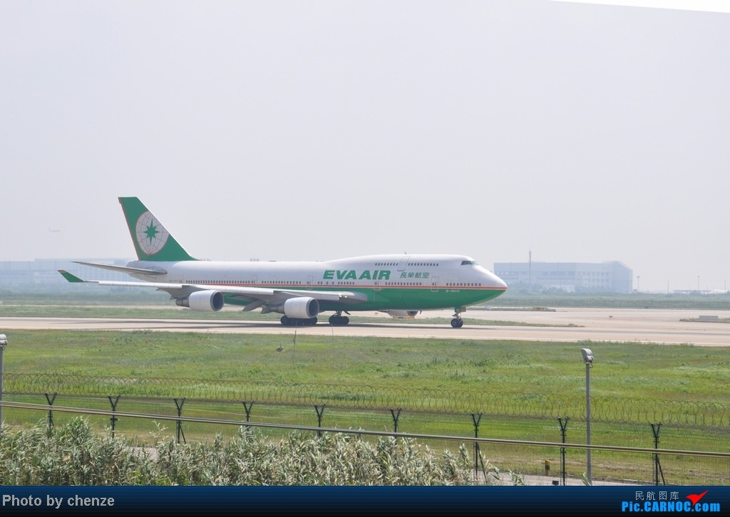 Re:[原创]浦东的天不咋蓝了,但还是要拍滴!!有点小惊喜!发现临时拍机位! BOEING 747-400 B-16412 中国上海浦东机场