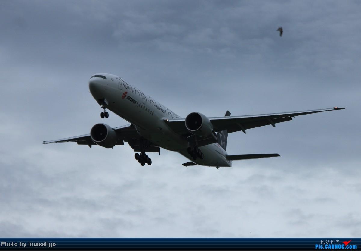 Re:B-2032!雨过天不晴,小鸟似精灵。归家第一闪,大家齐欢迎!   :)   欢迎国航首架星空联盟大猩猩涂装B77W回家! BOEING 777-300ER B-2032 北京首都国际机场