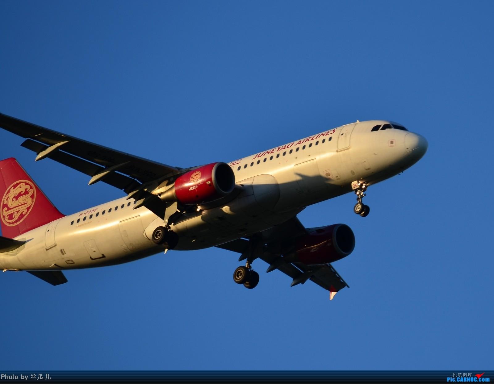 Re:[原创]再发5张,发完收工 AIRBUS A320-200 B-6395 中国上海浦东机场