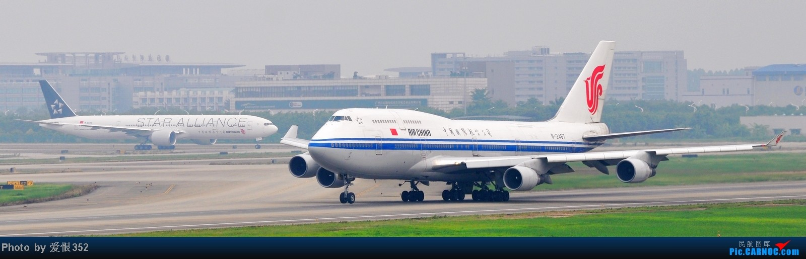 Re:国航波音777-300ER星空联盟涂装 广州-北京 CA1316 起飞图 BOEING 777-300 B-2032 中国广州白云机场