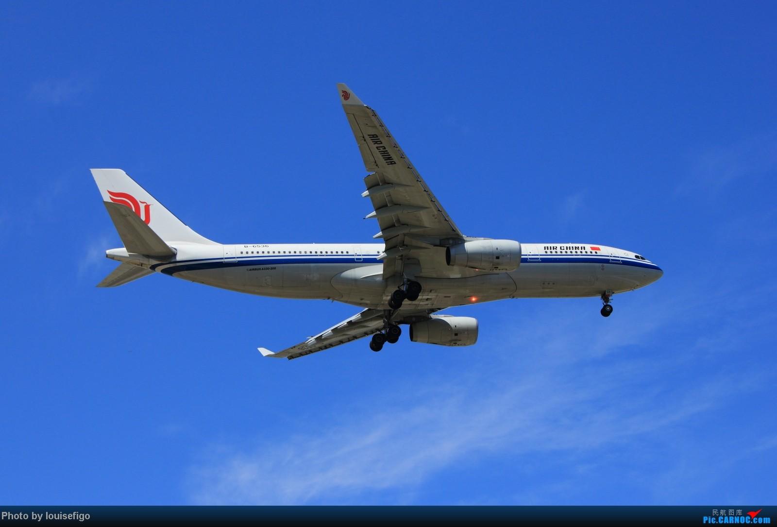 最爱330    两个大闪灯! AIRBUS A330-200 B-6536 北京首都国际机场