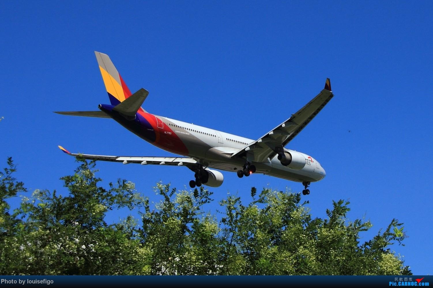 Re:[原创]最爱330    两个大闪灯! AIRBUS A330-300 HL7793 北京首都国际机场