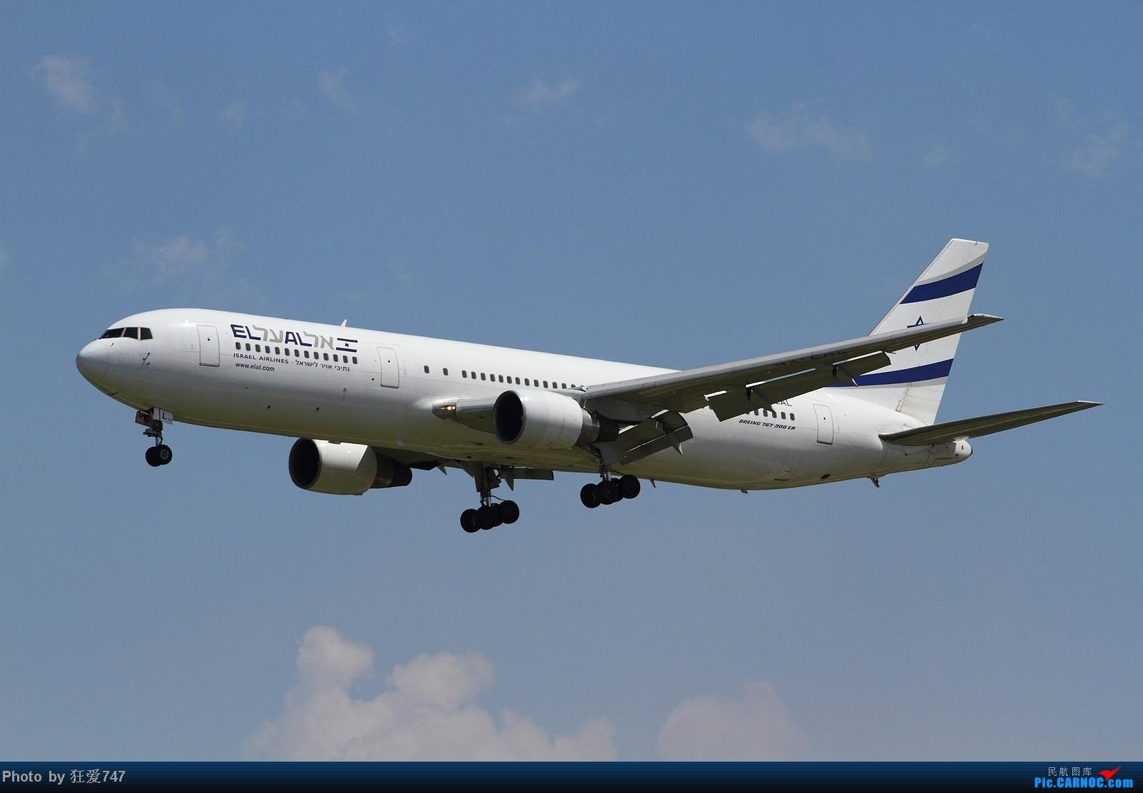 [原创]三张图:来自特拉维夫的大卫星-以色列767. BOEING 767-33A/ER 4X-EAL 中国北京首都机场