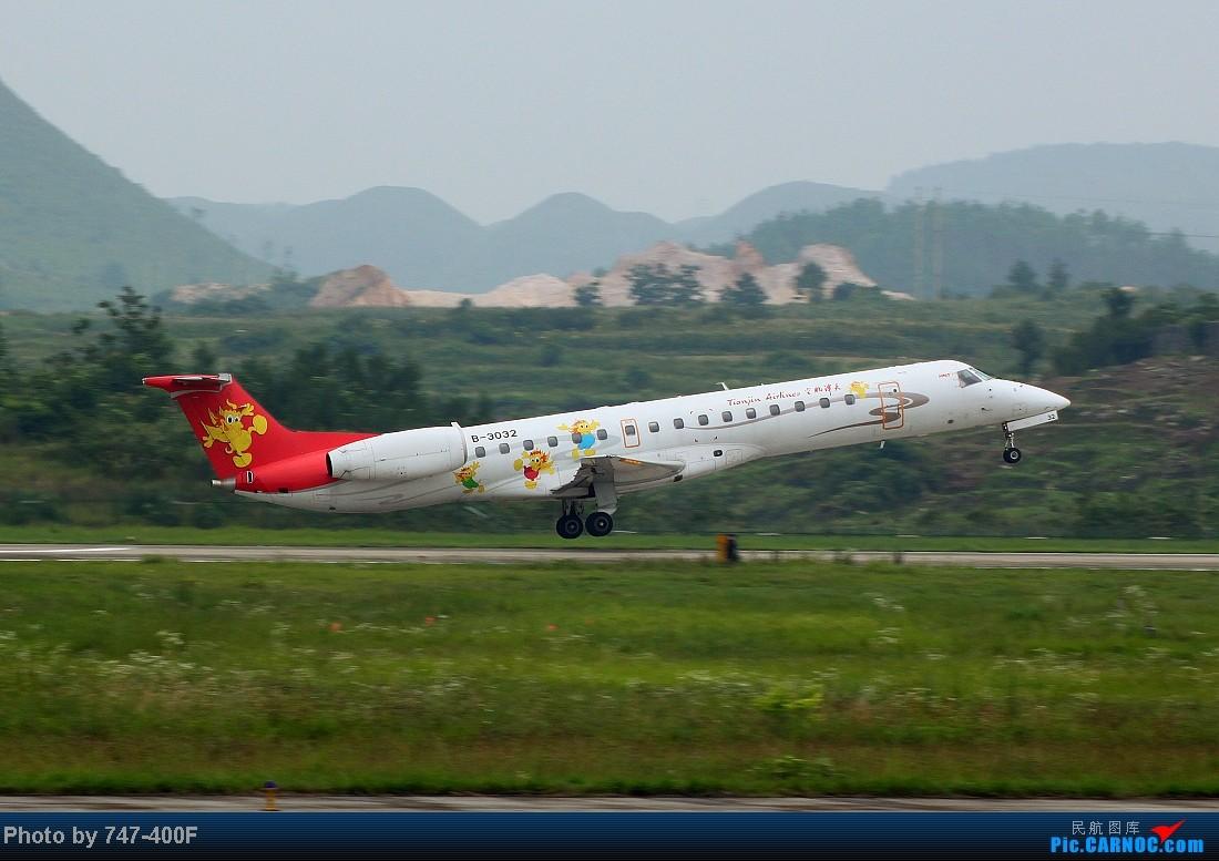 Re:[原创]【贵阳飞友会】暑假KWE打机,内有吹水、海航763、CRJ900 EMBRAER ERJ-145 B-3032 中国贵阳龙洞堡机场