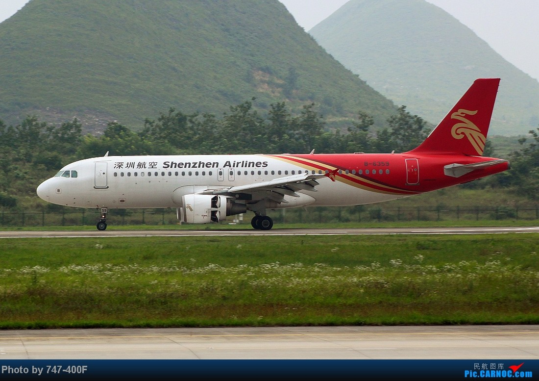 Re:[原创]【贵阳飞友会】暑假KWE打机,内有吹水、海航763、CRJ900 AIRBUS A320-200 B-6359 中国贵阳龙洞堡机场