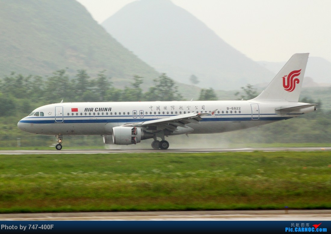Re:[原创]【贵阳飞友会】暑假KWE打机,内有吹水、海航763、CRJ900 AIRBUS A320-200 B-6822 中国贵阳龙洞堡机场