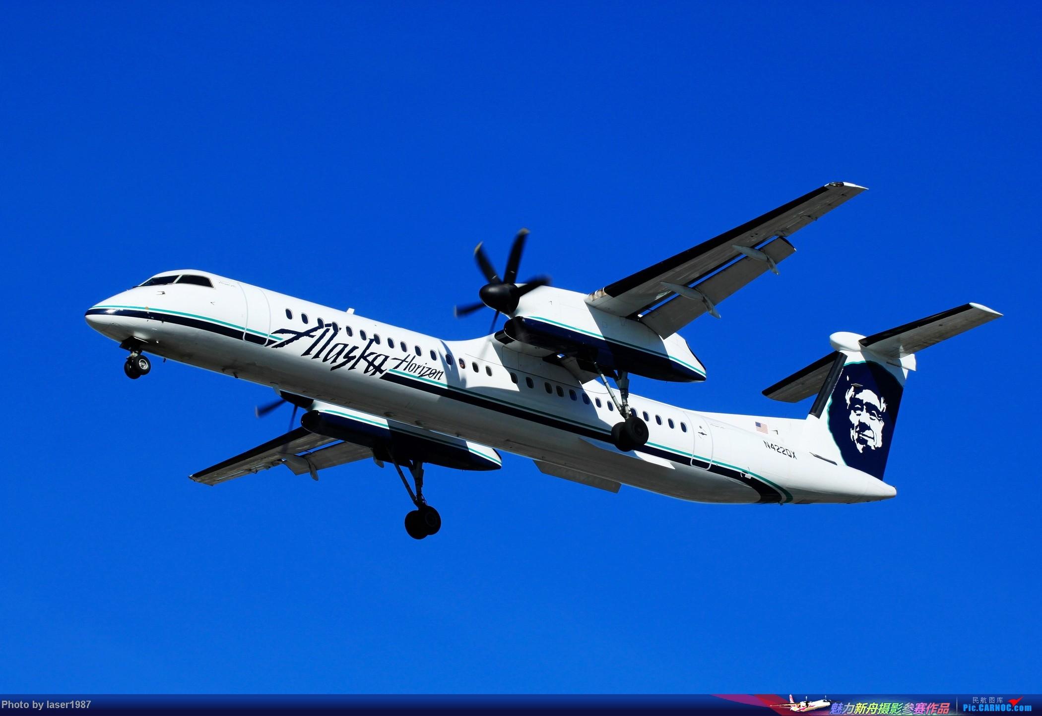 Re:[原创]2011.12.25 LAX 24R跑道东侧停车场拍飞机 DHC-8-400Q DASH 8 N422QX 美国洛杉矶国际机场