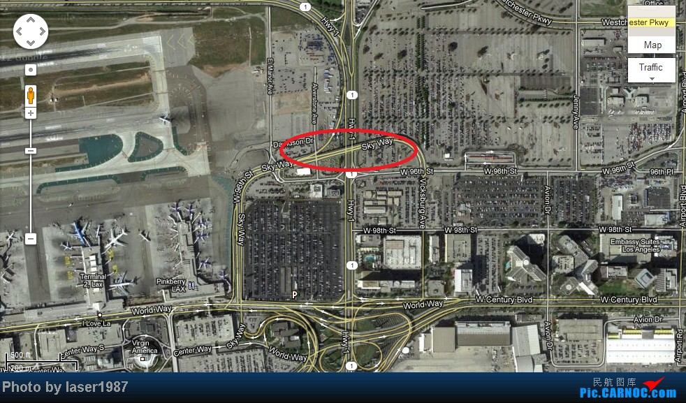 Re:Re:[原创]2011.12.25 LAX 24R跑道东侧停车场拍飞机    美国洛杉矶机场