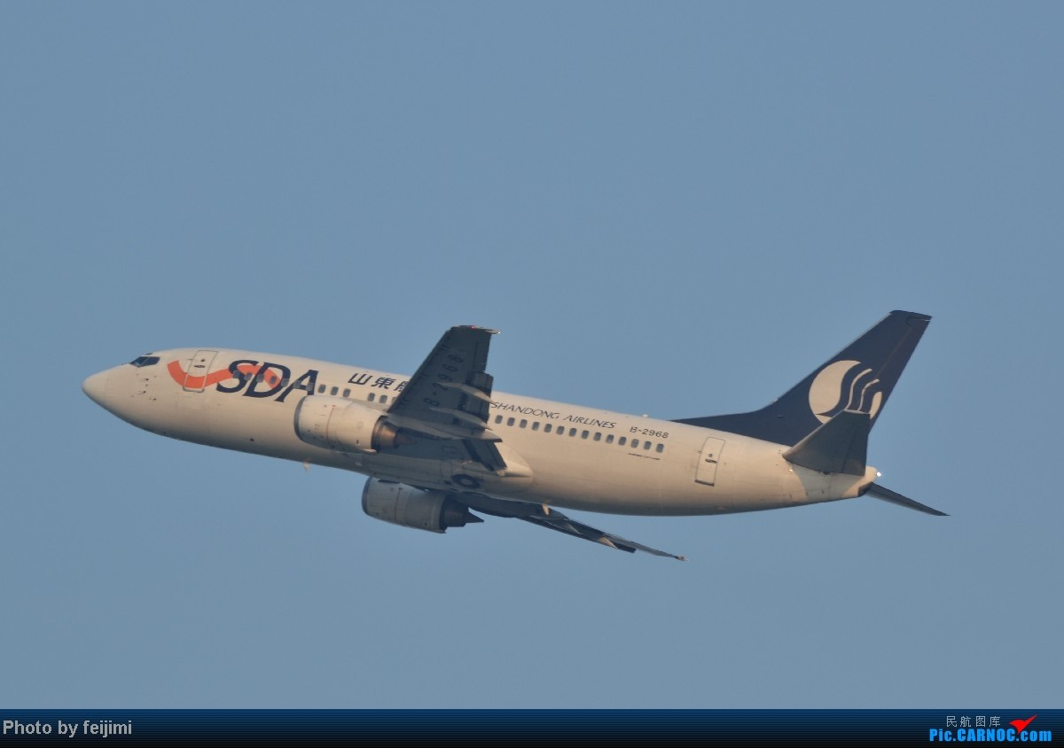 Re:[原创]我的暑假最后一次拍飞机,惊喜不断,RP超级大爆发!!哈哈 BOEING 737-300 B-2968 中国烟台莱山机场