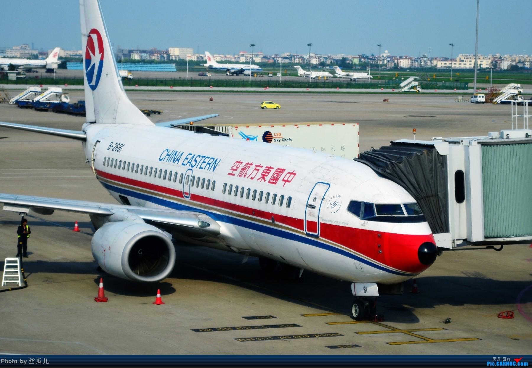 Re:[原创]长途奔袭鸟窝所得,HGH-PEK-HGH,鸟窝上空在我登基前的最后时刻云开雾散,感谢国家,感谢首都人民,感谢CCTV!! BOEING 737-700 B-2681 中国杭州萧山机场