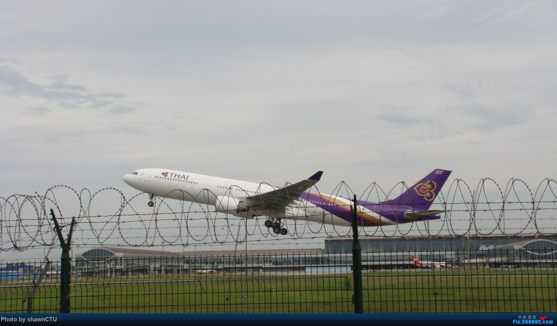[原创]2012年8月21日TG A333 HS-TEN AIRBUS A330-300 HS-TEN 中国成都双流机场