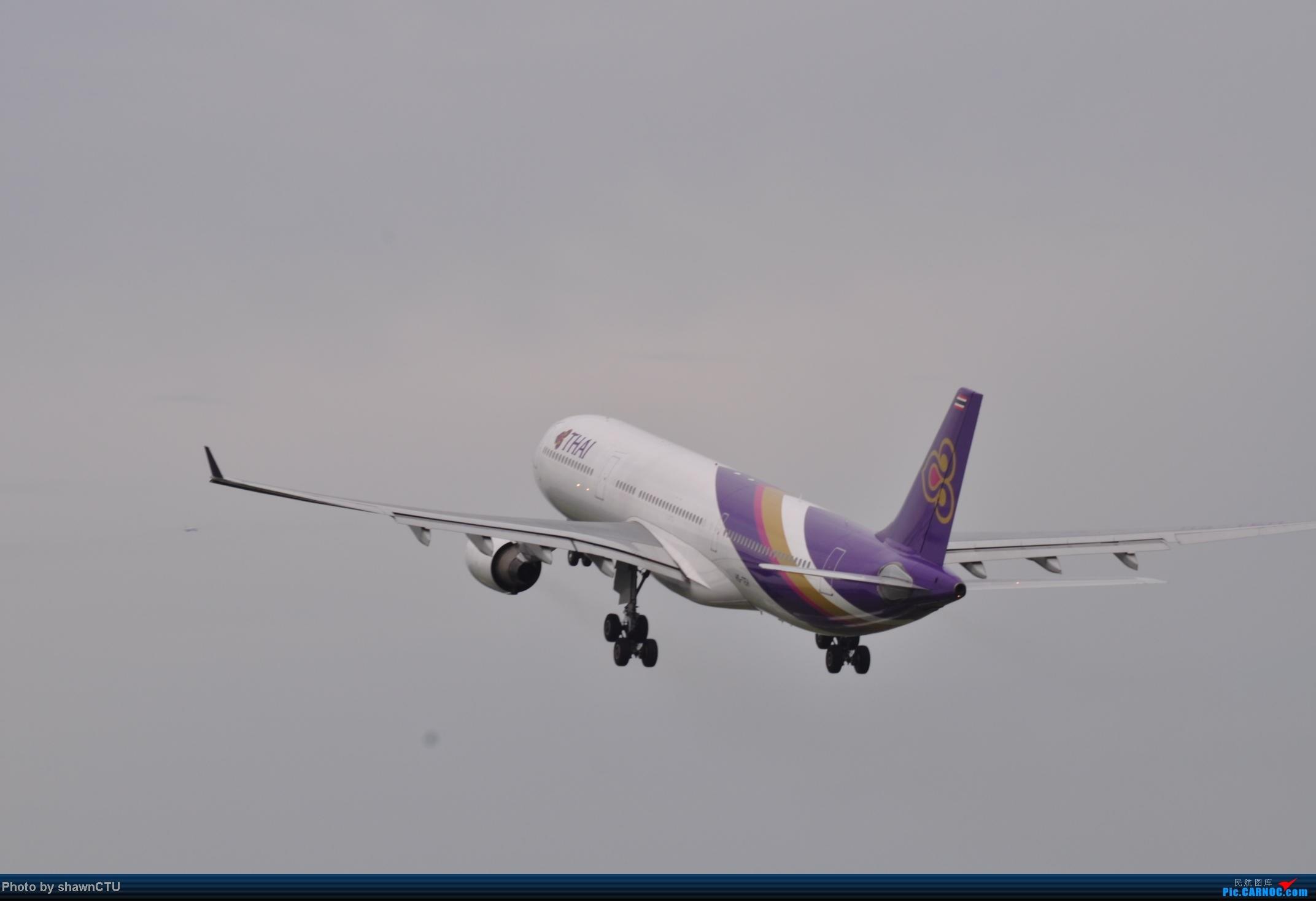 Re:[原创]2012年8月21日,双流西跑拍机。 AIRBUS A330-300 HS-TEN 成都双流机场西跑