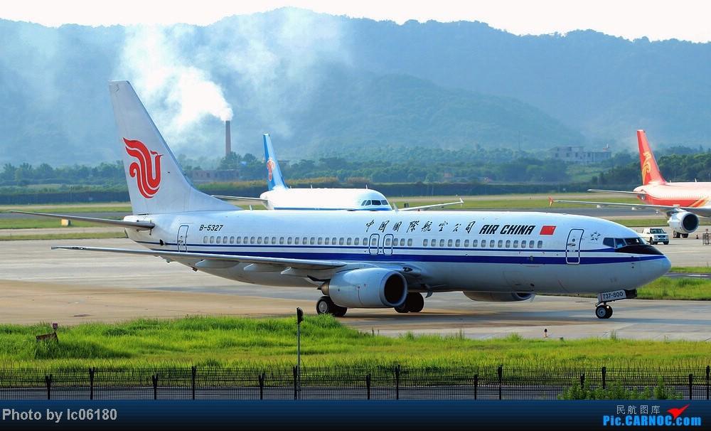 Re:[原创]『KHN』傍晚的昌北机场-大中小飞机齐在 普装彩绘都来 BOEING 737-800 B-5327 中国南昌昌北机场