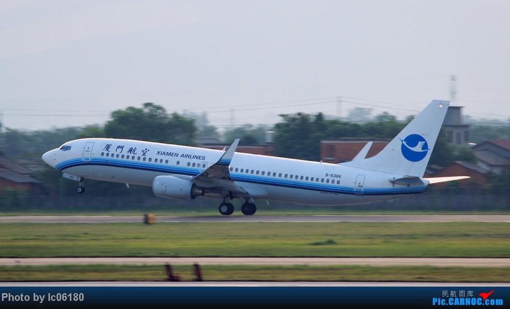 Re:[原创]『KHN』傍晚的昌北机场-大中小飞机齐在 普装彩绘都来 BOEING 737-800 B-5386 中国南昌昌北机场