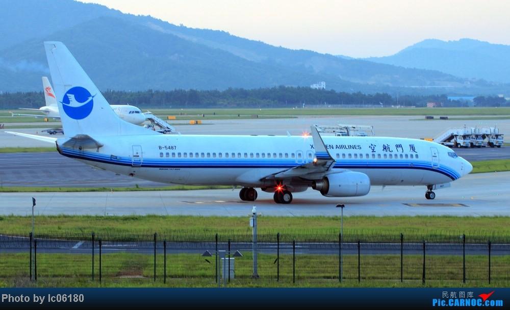 Re:[原创]『KHN』傍晚的昌北机场-大中小飞机齐在 普装彩绘都来 BOEING 737-800 B-5487 中国南昌昌北机场
