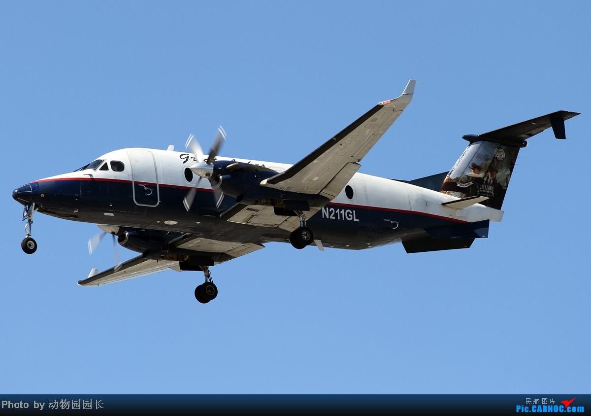 Re:[求助]这是神马航空,神马机型?摄于LAX RAYTHEON 1900D N211GL 美国洛杉矶机场