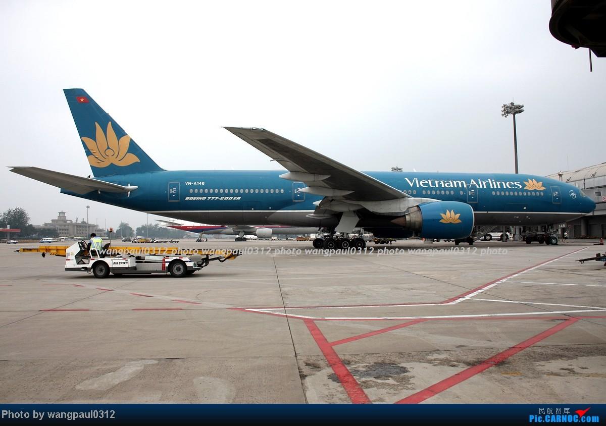 Re:[原创]两个多月没有发图了,差点从C网消失,补几张图吧! BOEING 777-26K(ER) VN-A146 北京首都国际机场