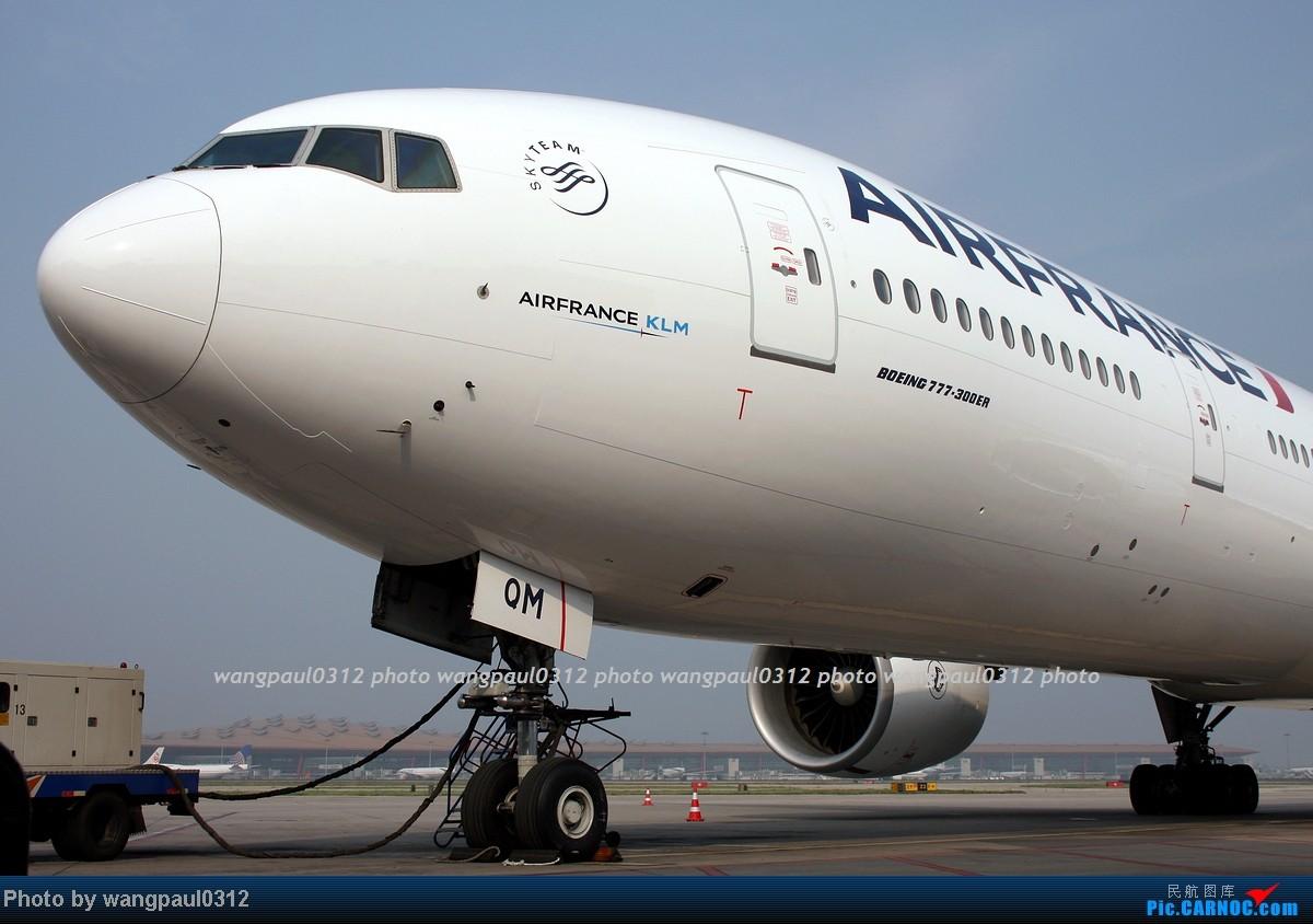 Re:[原创]两个多月没有发图了,差点从C网消失,补几张图吧! BOEING 777-328(ER) F-GSQM 北京首都国际机场