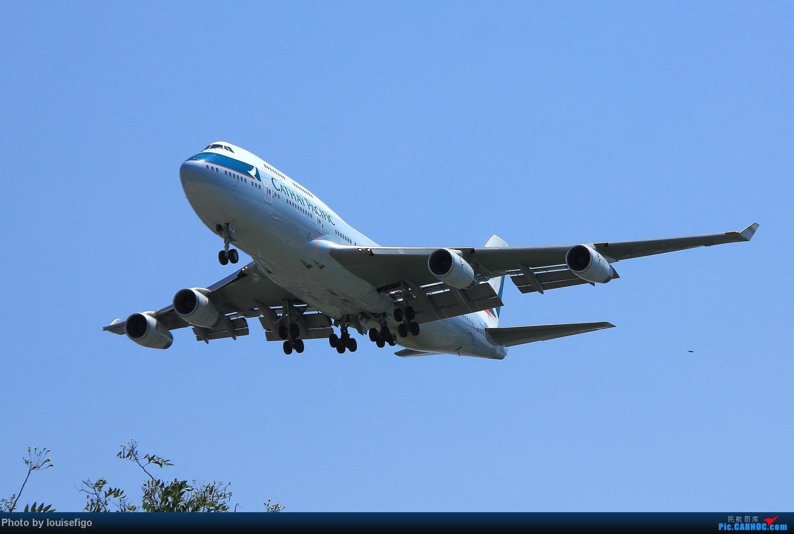[原创]Cathay Pacific BOEING 747-400 B-HOR BOEING 747-400 B-HOR 北京首都国际机场