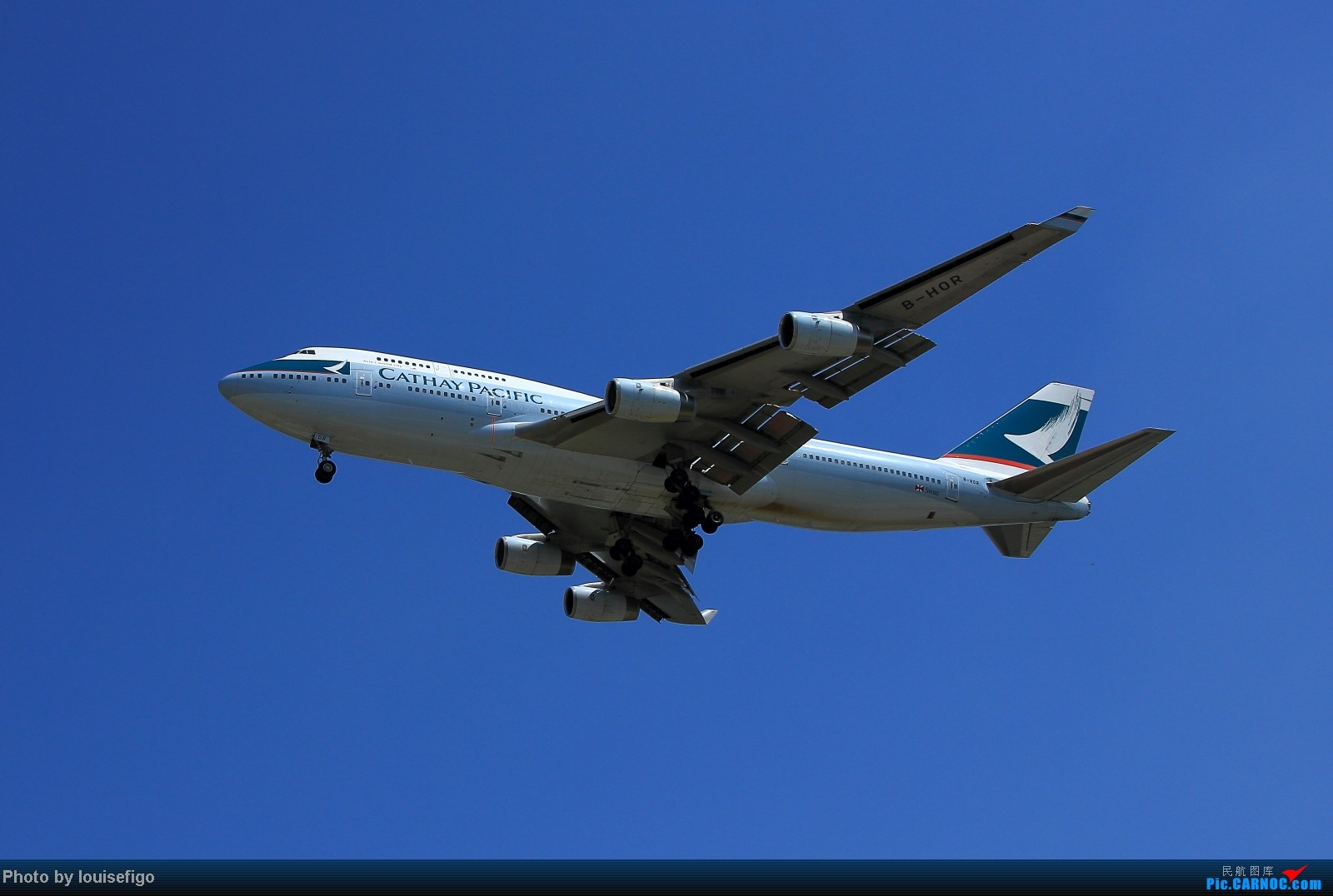 Re:[原创]Cathay Pacific BOEING 747-400 B-HOR BOEING 747-400 B-HOR 北京首都国际机场