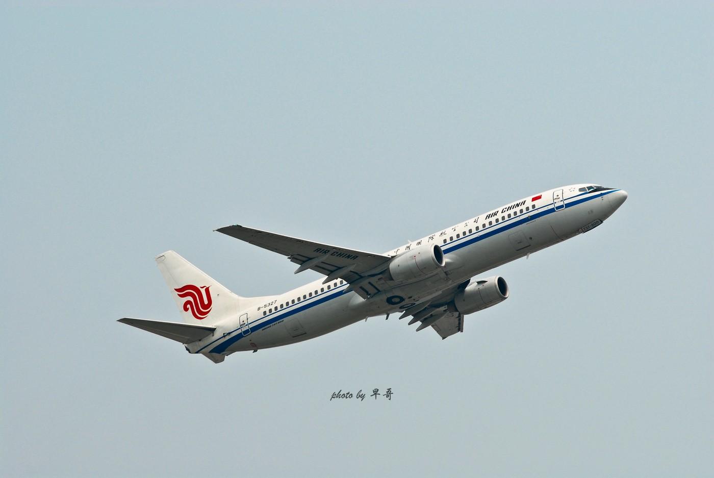 Re:[原创]【CKG打机队】用20跑道的日子,只能拍拍起飞咯! BOEING 737-800 B-5327 中国重庆江北机场