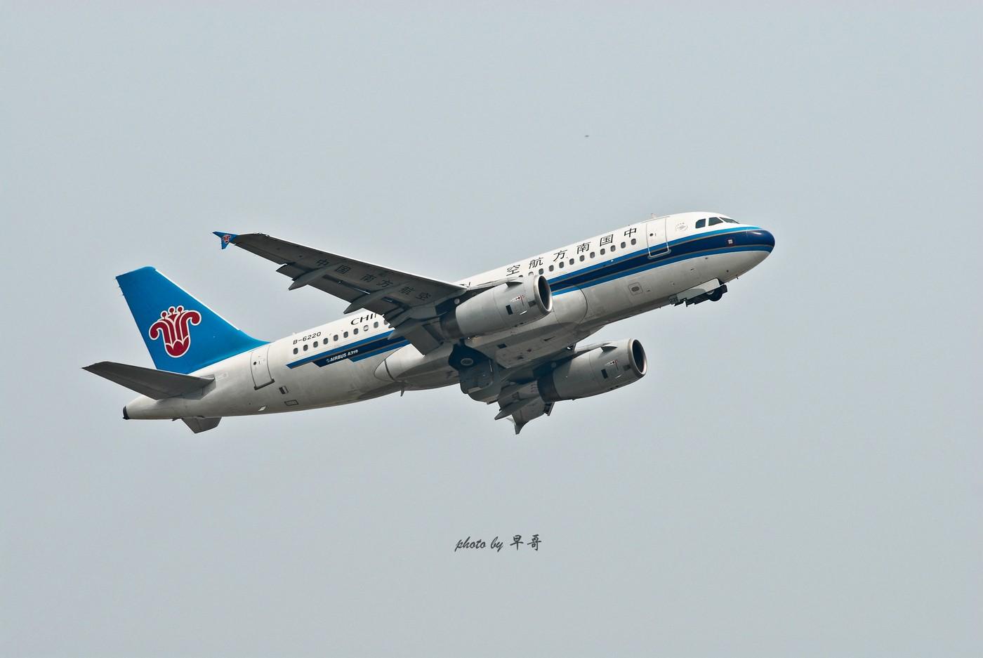 Re:[原创]【CKG打机队】用20跑道的日子,只能拍拍起飞咯! AIRBUS A319-100 B-6220 中国重庆江北机场