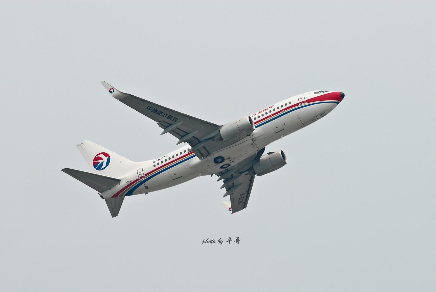 Re:[原创]【CKG打机队】用20跑道的日子,只能拍拍起飞咯! BOEING 737-700 B-5276 中国重庆江北机场