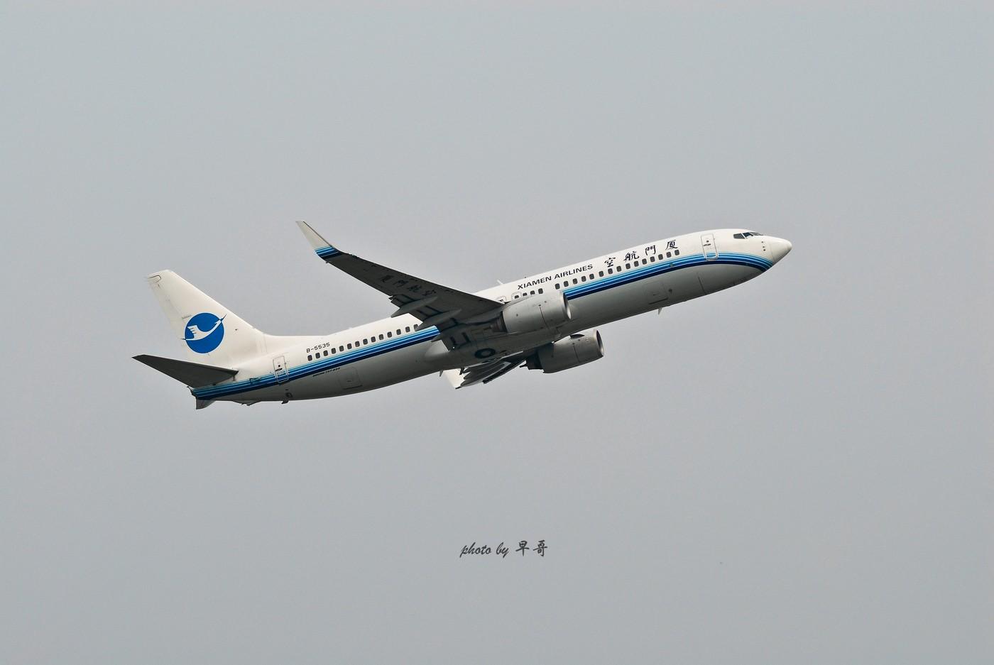 Re:[原创]【CKG打机队】用20跑道的日子,只能拍拍起飞咯! BOEING 737-800 B-5535 中国重庆江北机场