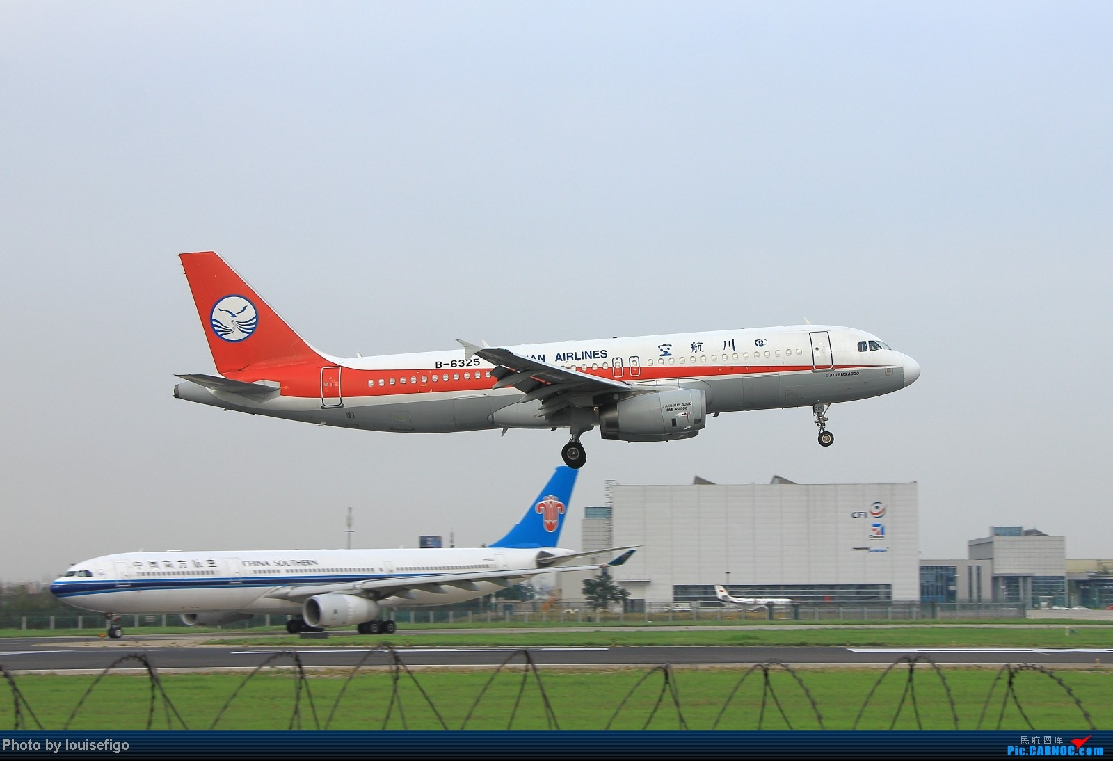 Re:[原创]闲来无事天气闷,发点冷饭自娱乐!!!PEK西跑的降落杂图~发到哪儿是哪儿啊!随心情! AIRBUS A320-200 B-6325 北京首都国际机场