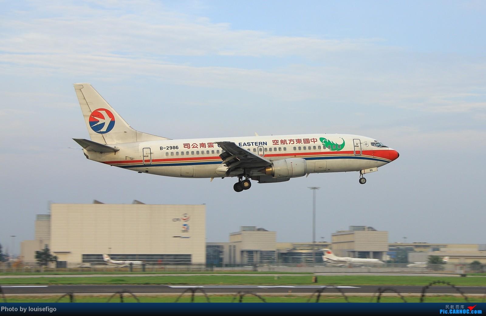Re:[原创]闲来无事天气闷,发点冷饭自娱乐!!!PEK西跑的降落杂图~发到哪儿是哪儿啊!随心情! BOEING 737-300 B-2986 北京首都国际机场