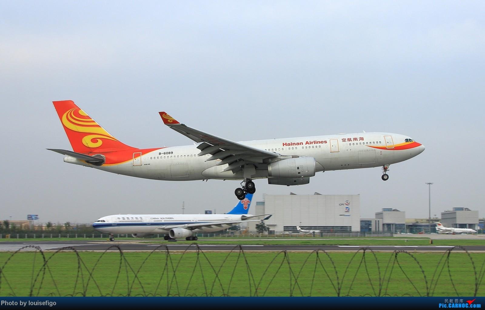 Re:[原创]闲来无事天气闷,发点冷饭自娱乐!!!PEK西跑的降落杂图~发到哪儿是哪儿啊!随心情! AIRBUS A330-200 B-6089 北京首都国际机场