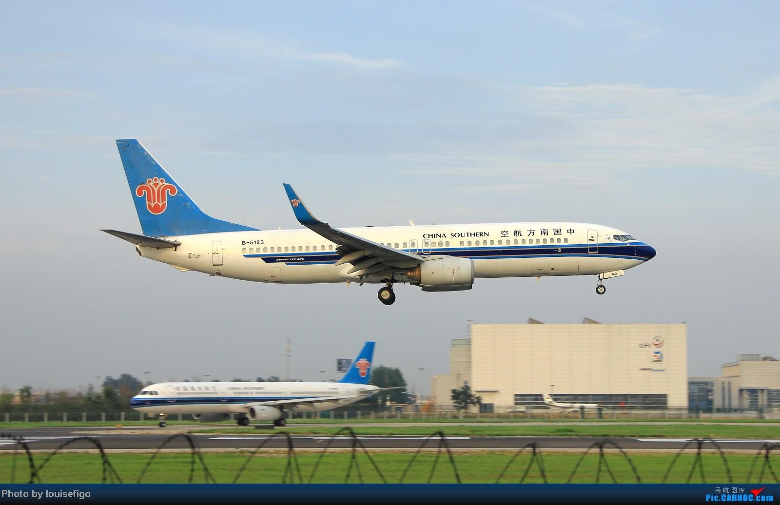 Re:[原创]闲来无事天气闷,发点冷饭自娱乐!!!PEK西跑的降落杂图~发到哪儿是哪儿啊!随心情! BOEING 737-800 B-5123 北京首都国际机场