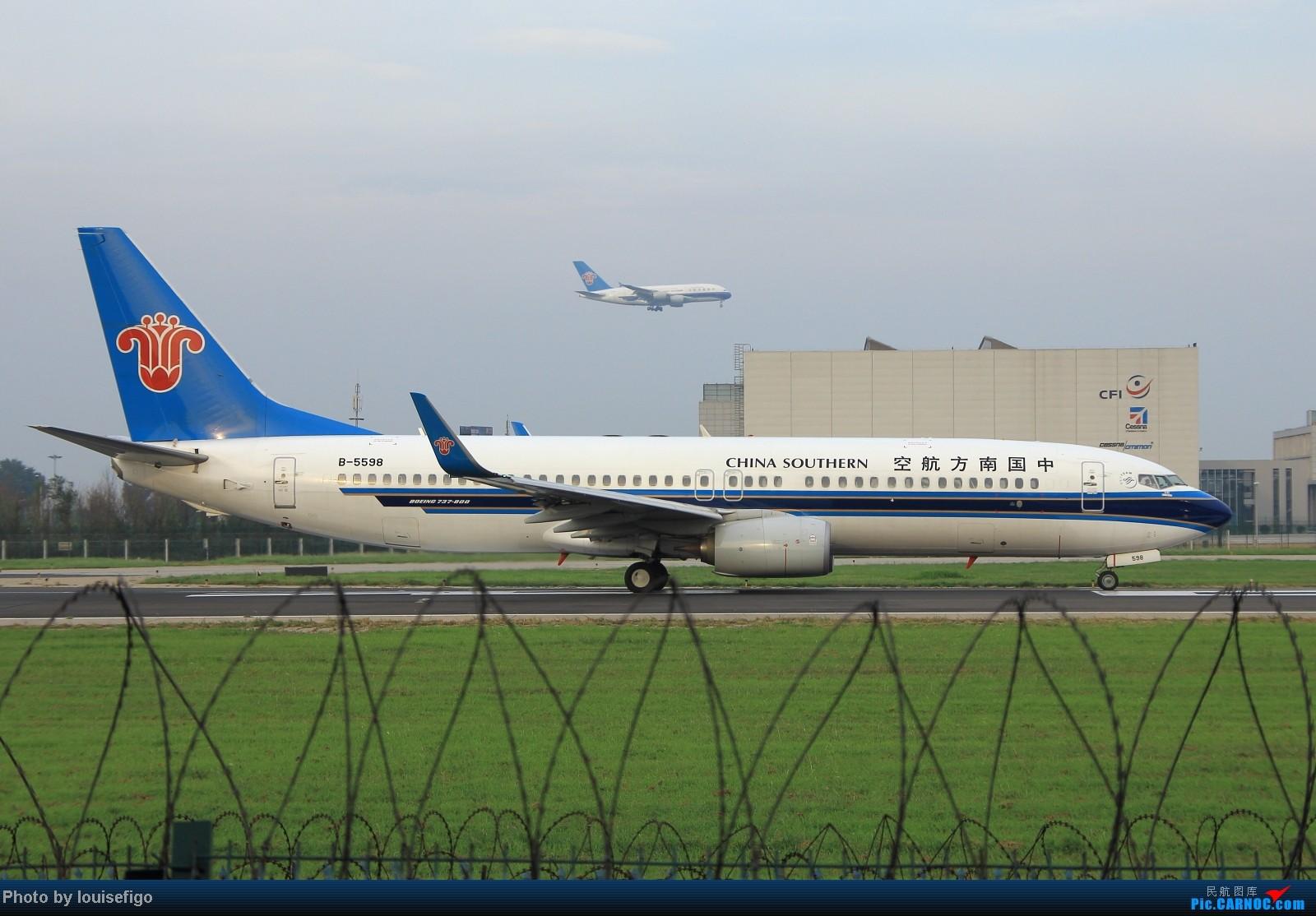 Re:[原创]闲来无事天气闷,发点冷饭自娱乐!!!PEK西跑的降落杂图~发到哪儿是哪儿啊!随心情! BOEING 737-800 B-5598 北京首都国际机场