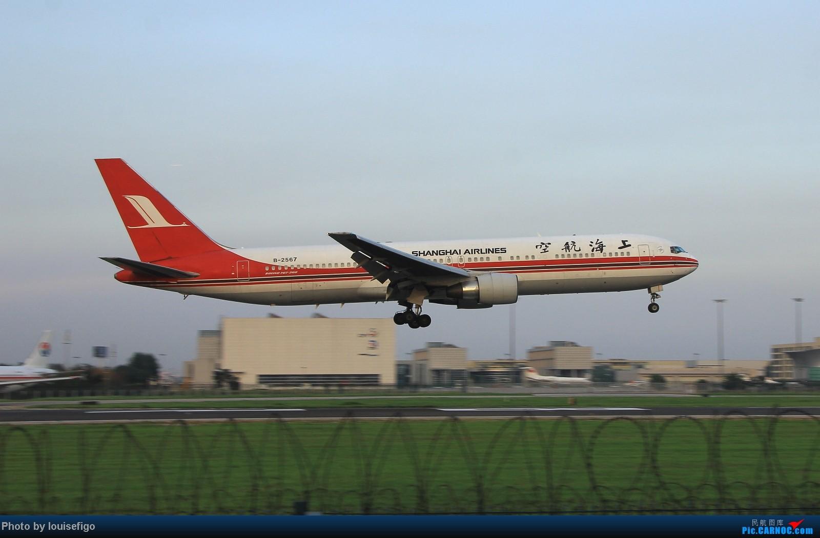 Re:[原创]闲来无事天气闷,发点冷饭自娱乐!!!PEK西跑的降落杂图~发到哪儿是哪儿啊!随心情! BOEING 767-300 B-2567 北京首都国际机场