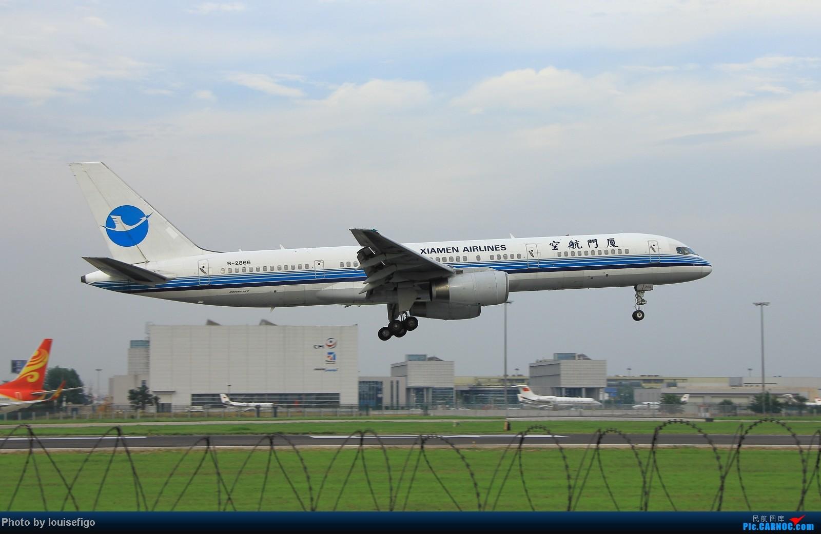Re:[原创]闲来无事天气闷,发点冷饭自娱乐!!!PEK西跑的降落杂图~发到哪儿是哪儿啊!随心情! BOEING 757-200 B-2866 北京首都国际机场