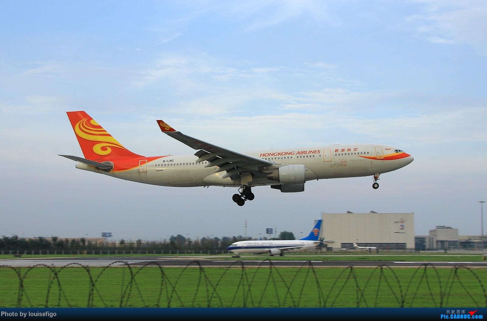 Re:[原创]闲来无事天气闷,发点冷饭自娱乐!!!PEK西跑的降落杂图~发到哪儿是哪儿啊!随心情! AIRBUS A330-200 B-LNC 北京首都国际机场