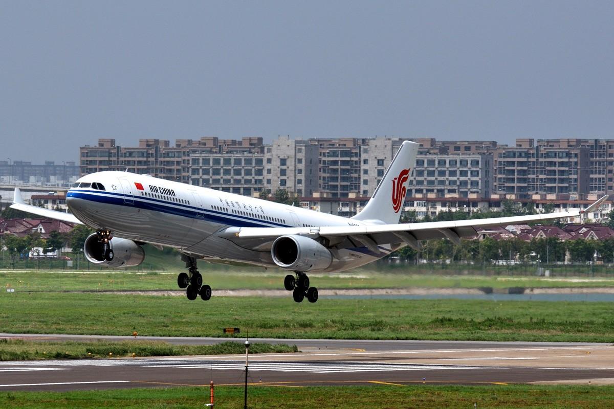 [转贴]国航最新一架A330-343X AIRBUS A330-343X B-6503 中国上海虹桥机场