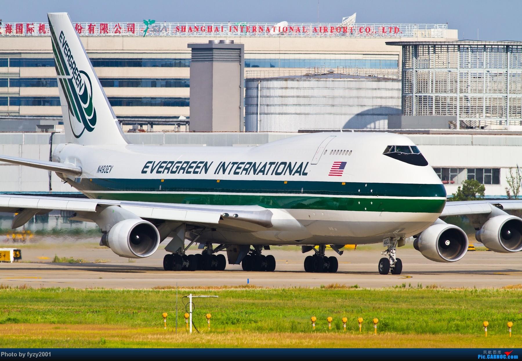 Re:[原创][无锡西站]一周之内SHA&PVG追逐美好光线……多图党,不知你的电脑能承受多少张1800~~~~~ BOEING 747-400 N493EV 中国上海浦东机场