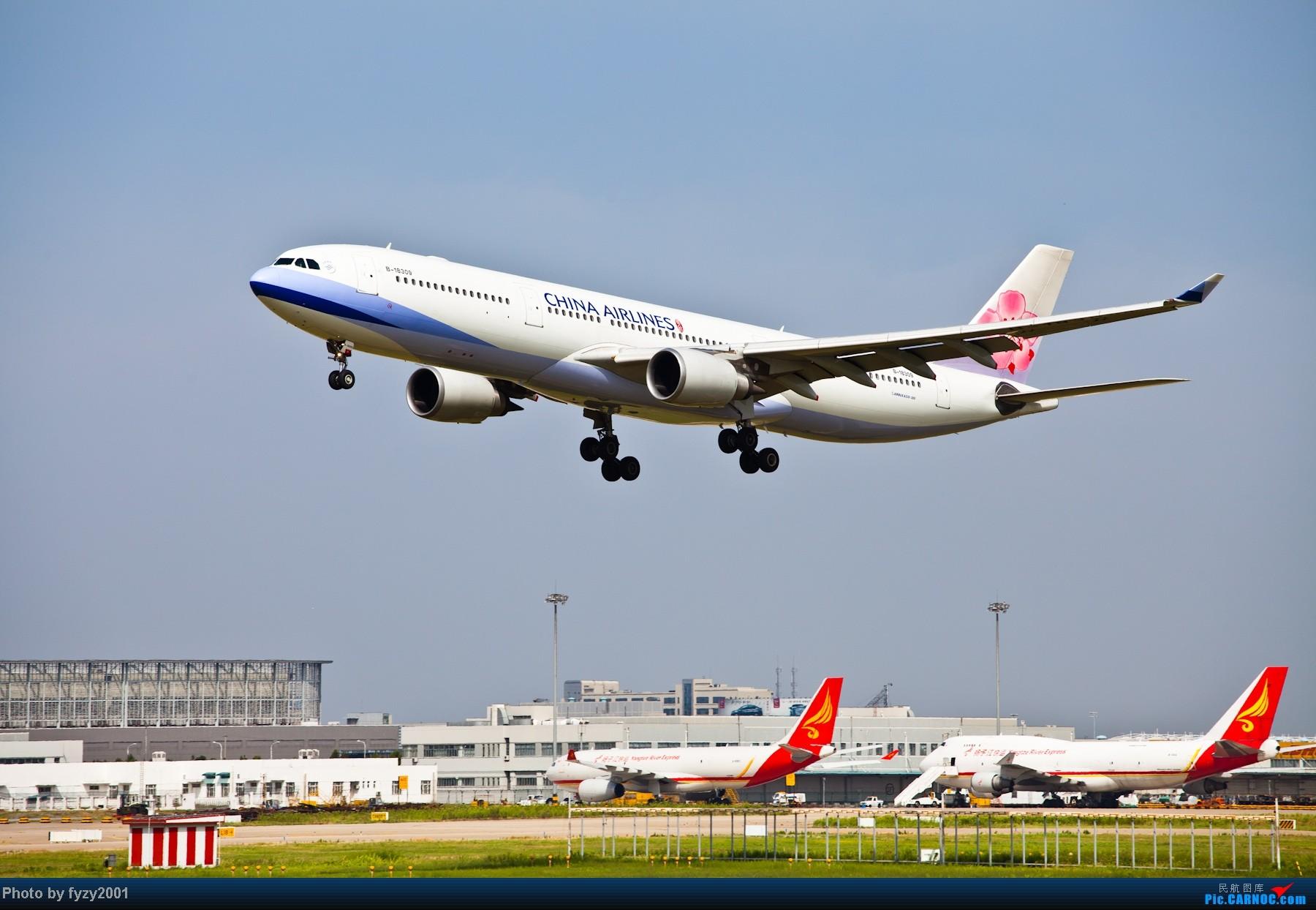 Re:[原创][无锡西站]一周之内SHA&PVG追逐美好光线……多图党,不知你的电脑能承受多少张1800~~~~~ AIRBUS A330 B-18309 中国上海浦东机场