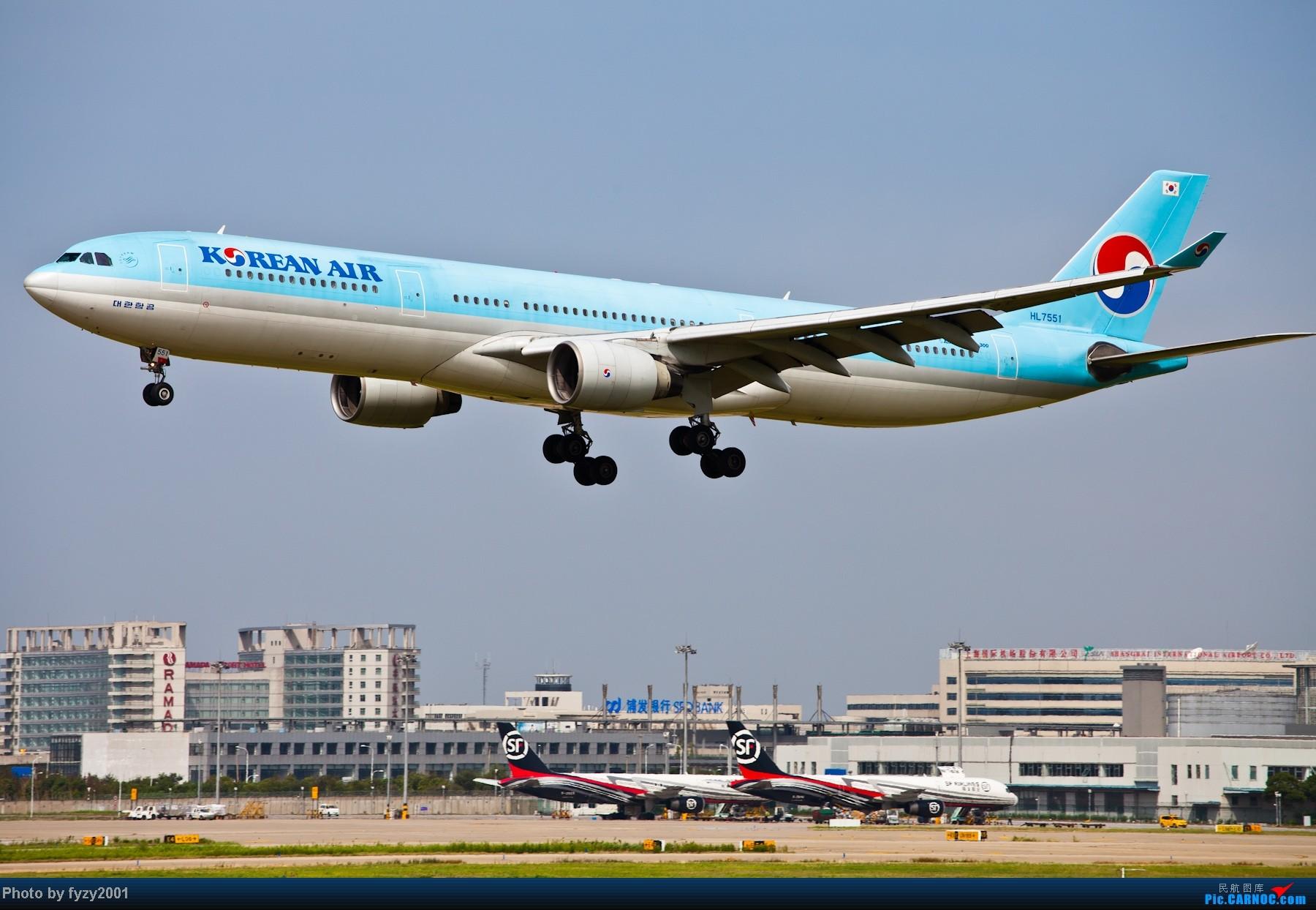 Re:[原创][无锡西站]一周之内SHA&PVG追逐美好光线……多图党,不知你的电脑能承受多少张1800~~~~~ AIRBUS A330 HL7551 中国上海浦东机场