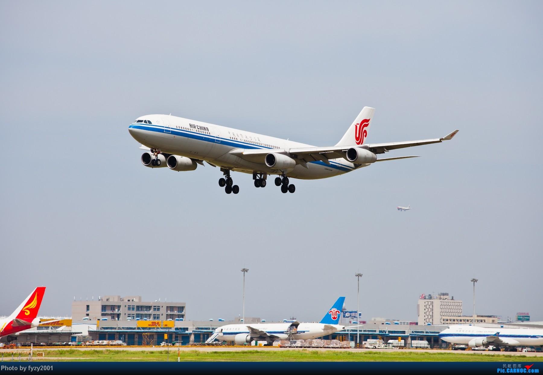 Re:[原创][无锡西站]一周之内SHA&PVG追逐美好光线……多图党,不知你的电脑能承受多少张1800~~~~~ AIRBUS A340-300  中国上海浦东机场