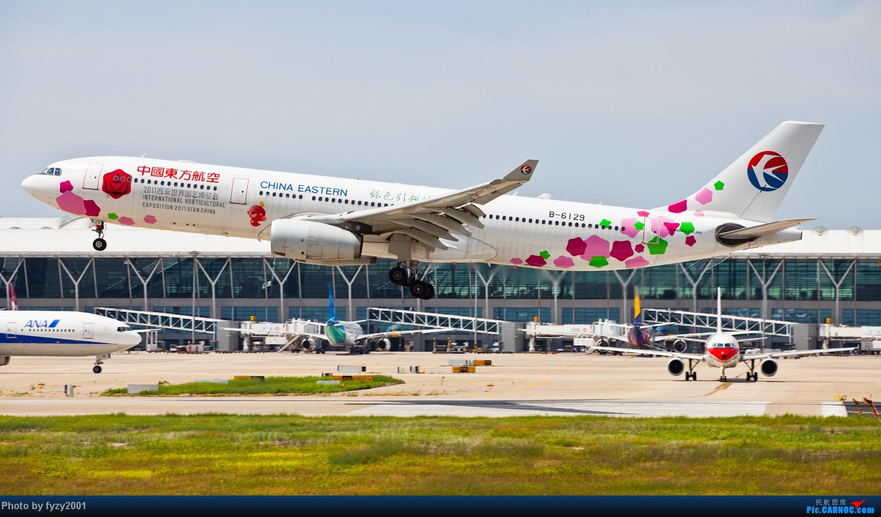 Re:[原创][无锡西站]一周之内SHA&PVG追逐美好光线……多图党,不知你的电脑能承受多少张1800~~~~~ AIRBUS A330-300 B-6129 中国上海浦东机场