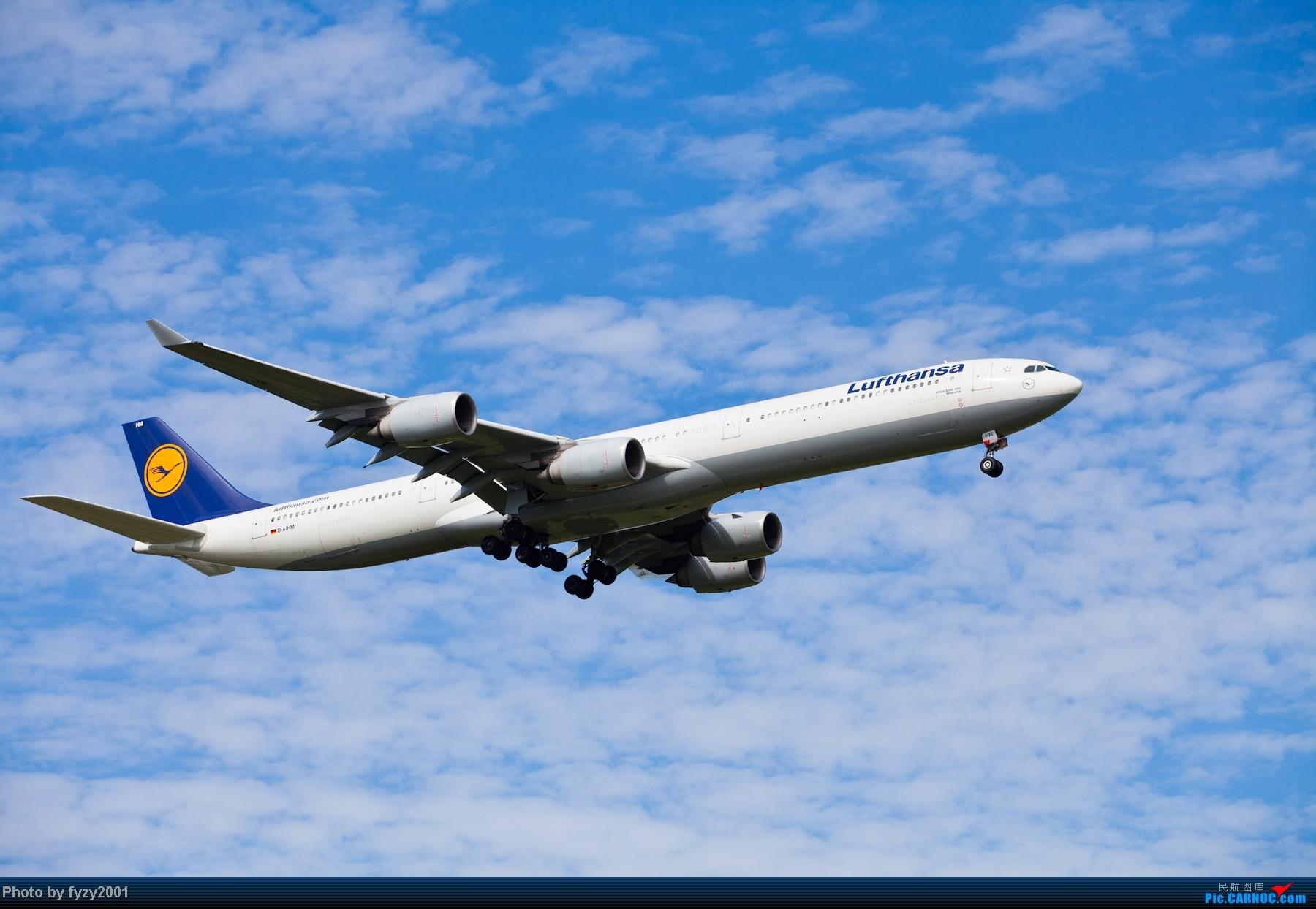 Re:[原创][无锡西站]一周之内SHA&PVG追逐美好光线……多图党,不知你的电脑能承受多少张1800(更新ing)~~~~~ AIRBUS A340-600 D-AIHM 中国上海浦东机场
