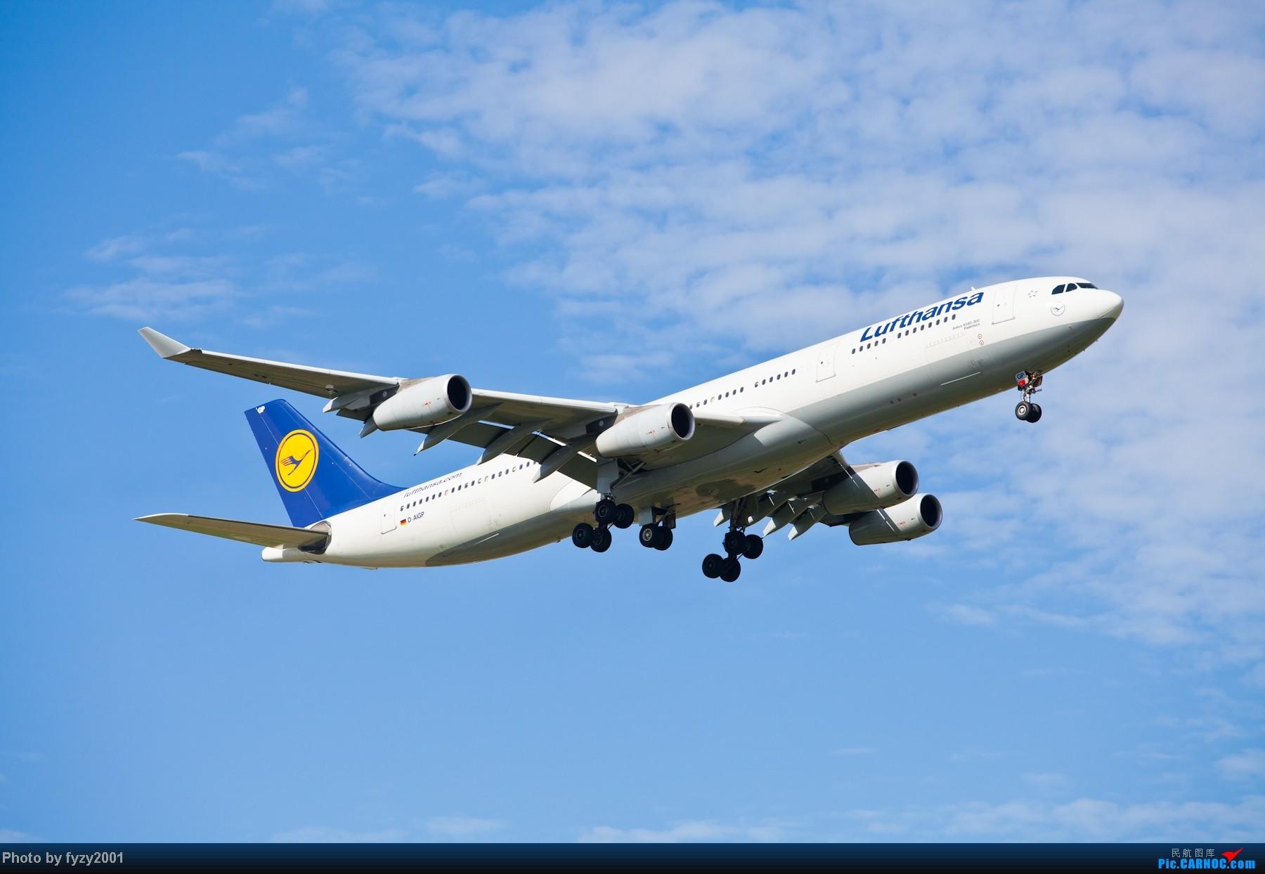 Re:[原创][无锡西站]一周之内SHA&PVG追逐美好光线……多图党,不知你的电脑能承受多少张1800(更新ing)~~~~~ AIRBUS A340-300 D-AIGP 中国上海浦东机场