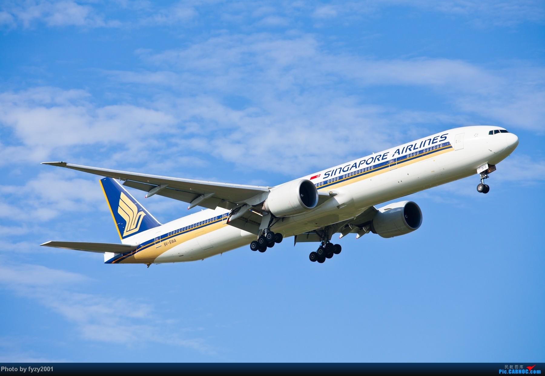 Re:[原创][无锡西站]一周之内SHA&PVG追逐美好光线……多图党,不知你的电脑能承受多少张1800(更新ing)~~~~~ BOEING 777-300ER 9V-SWA 中国上海浦东机场