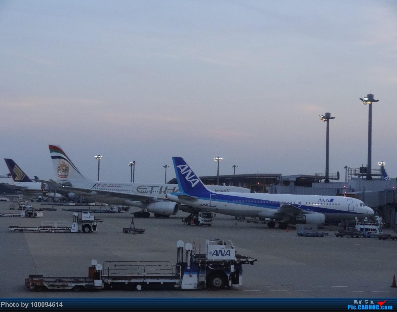 Re:[原创][100094614游记-41]13 days,13 flights.伪文艺流窜美日之最终回,从第二根据地回国,全日空新舱767,NH911 NRT-HKG. A320-200 JA208A 日本东京成田机场