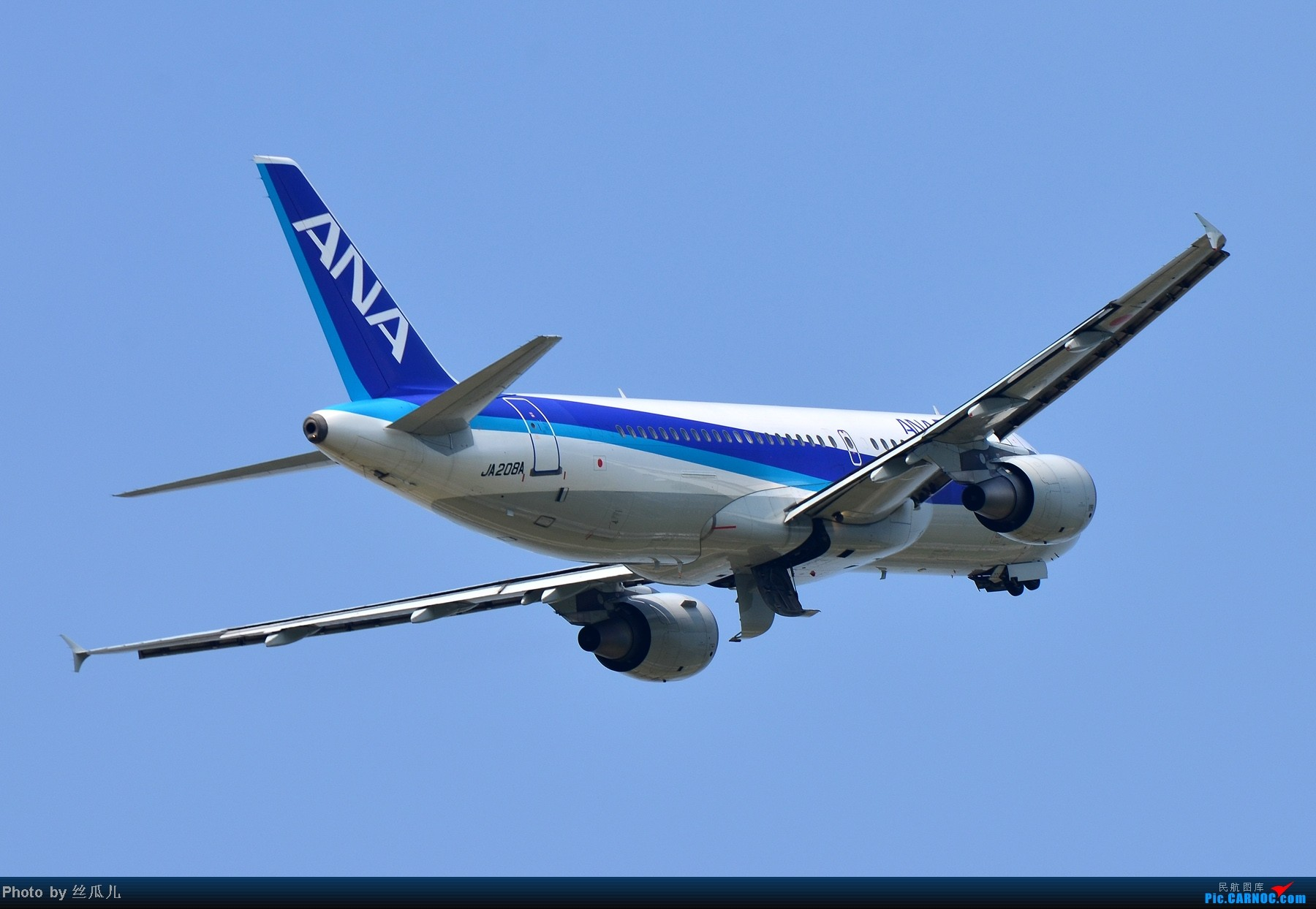 [原创]日本の菊 AIRBUS A320-200 JA208A 中国杭州萧山机场